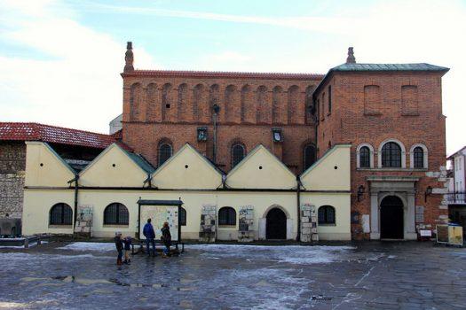 Stara Synagoga (Sinagoga Vecchia) architettura esterna - Cracovia