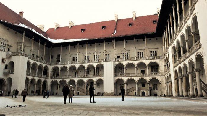 Cortile Rinascimentale. Wawel Castle