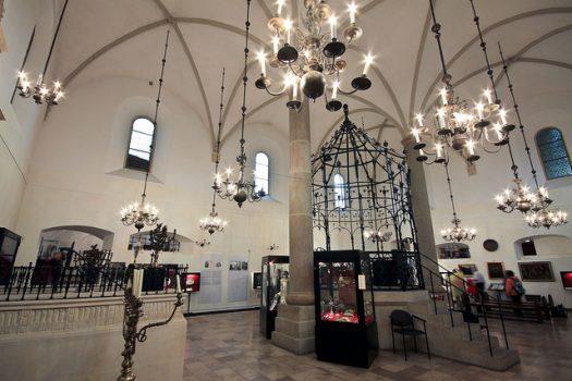 Sinagoga Vecchia nel Quartiere Ebraico di Cracovia