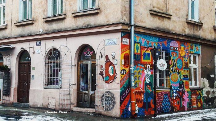 Via Jozefa, la strada che conduce al Quartiere Ebraico. Mourales