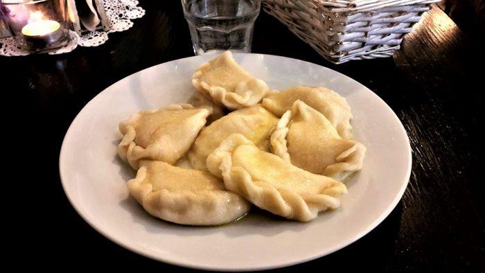 Pierogi dolci, piatto tipico Polacco