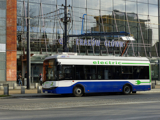 Autobus a Cracovia