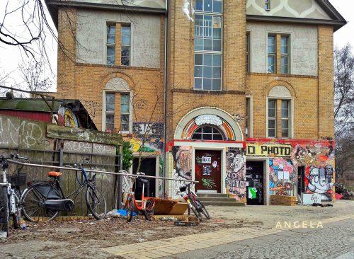 L'ingresso del centro sociale Georg von Rauch Haus