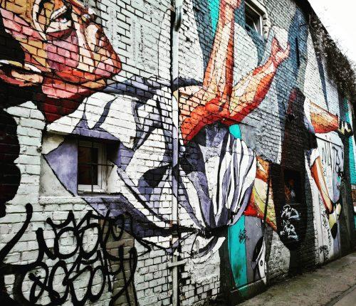 Street art al Raw, uno dei luoghi più alternativi di Berlino