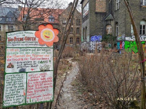 Ton Steine Gärten, regolamento del giardino