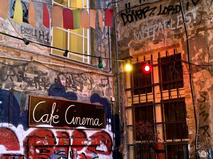 Hous Schwarzenberg cafè cinema