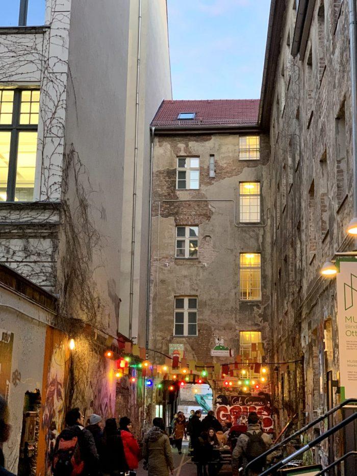 Hous Schwarzenberg piena di lucine colorate