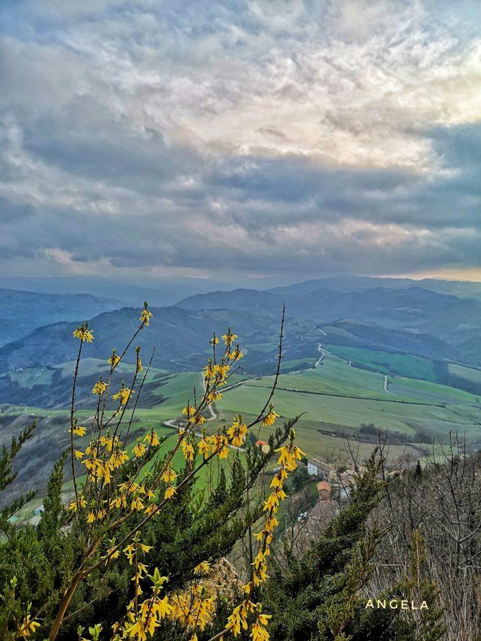 Il panorama mozzafiato che si vede dal Monte delle Formiche