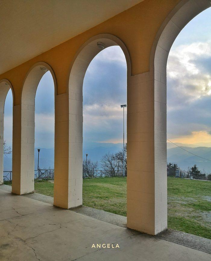 Dal Portico del Santuario del Monte delle Formichedellaa